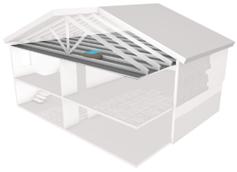 la trappe de grenier thermoshield r42 insulfloor. Black Bedroom Furniture Sets. Home Design Ideas